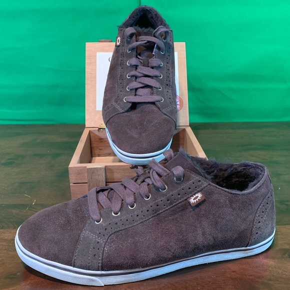 UGG Other - Ugg Roxford Twin Face Bomber Jacket Sneakers brown